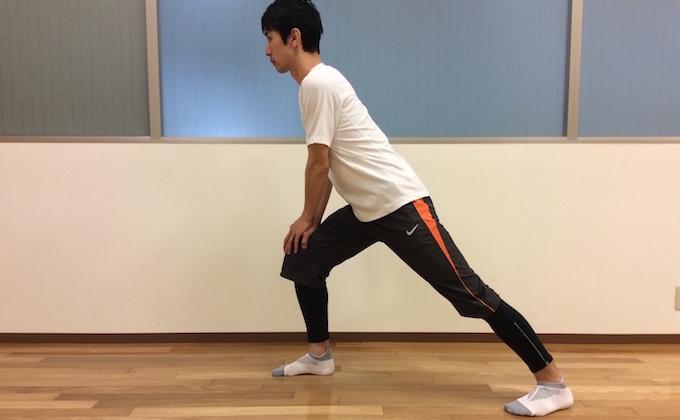 ふくらはぎの筋肉(下腿三頭筋)ストレッチ