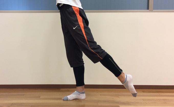 股関節を後ろに伸ばす (股関節の伸展)
