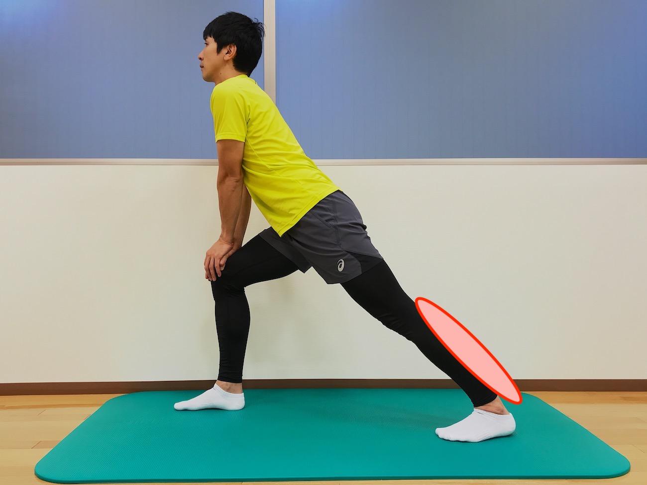 ふくらはぎの筋肉(下腿三頭筋)のストレッチ
