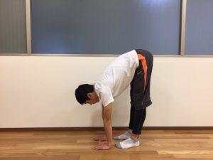 立位前屈の柔軟性の評価