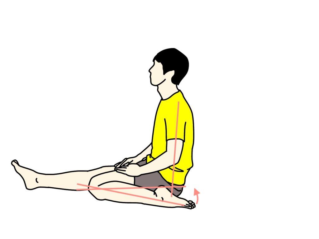 もも前(大腿四頭筋)のストレッチの仕方