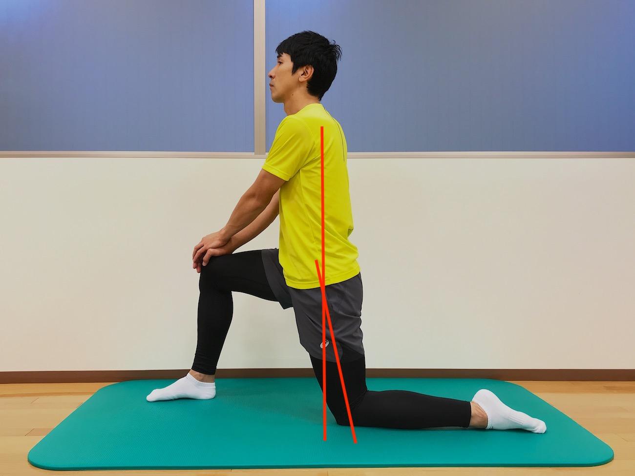 もも前〜ソケイ部の筋肉(大腿直筋・腸腰筋)のストレッチの方法
