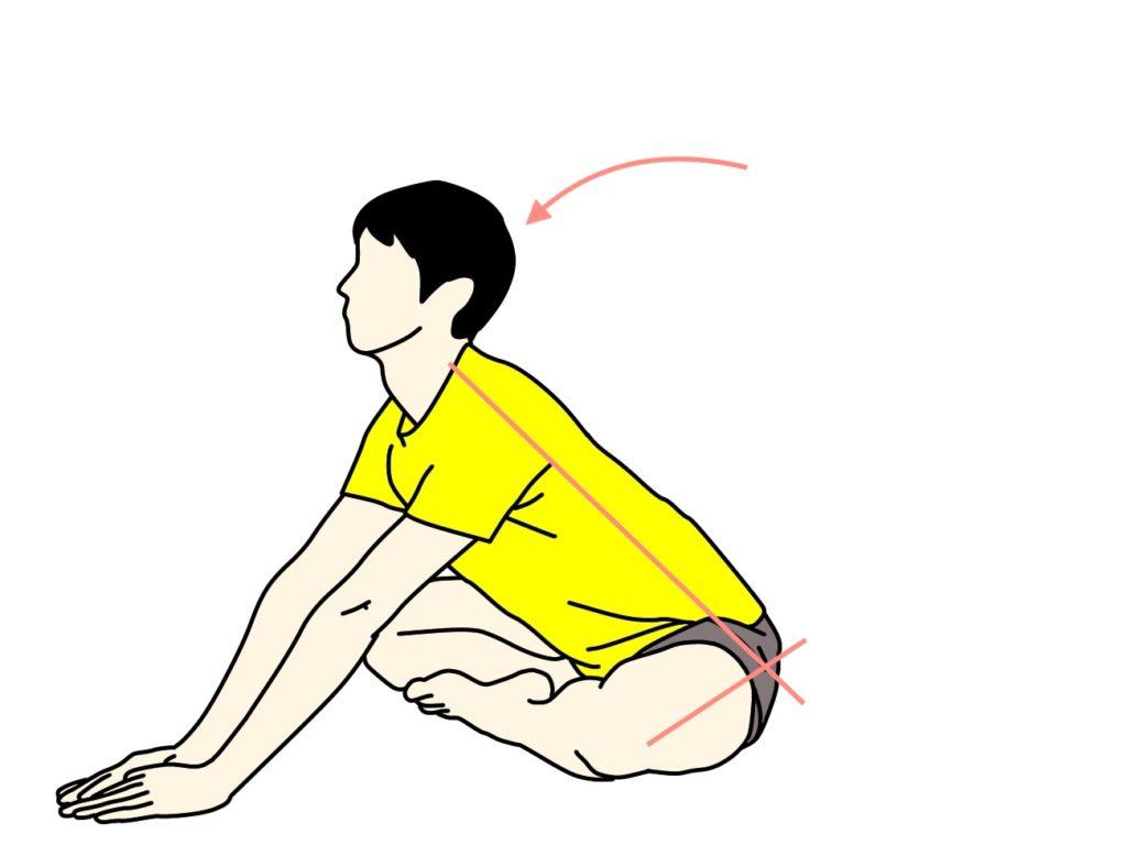 お尻(大殿筋)のストレッチの方法