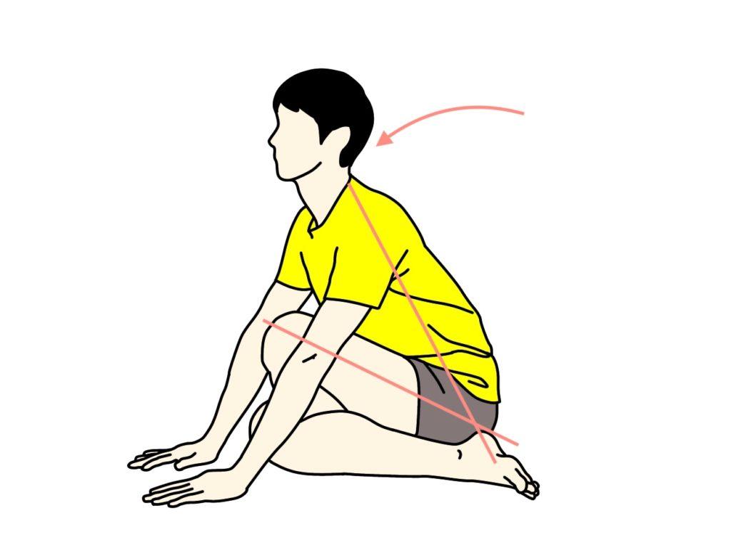 お尻(殿筋群)のストレッチの方法