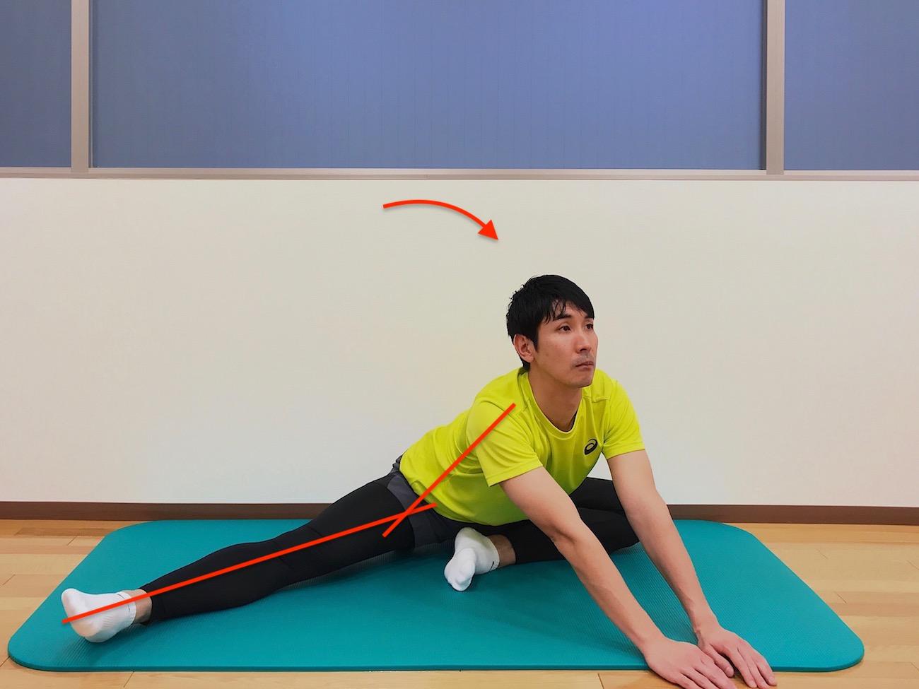 内ももの筋肉(内転筋)のストレッチの方法