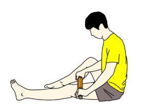 フォームローラー(マッサージローラー)の使い方【もも前の筋肉(大腿四頭筋)】