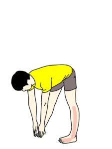 スネの外側の筋肉(長腓骨筋)のストレッチで伸びる場所