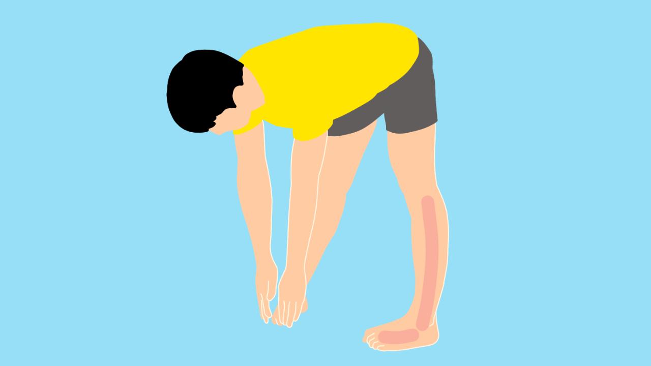 スネの外側の筋肉(長腓骨筋・短腓骨筋)のストレッチの方法