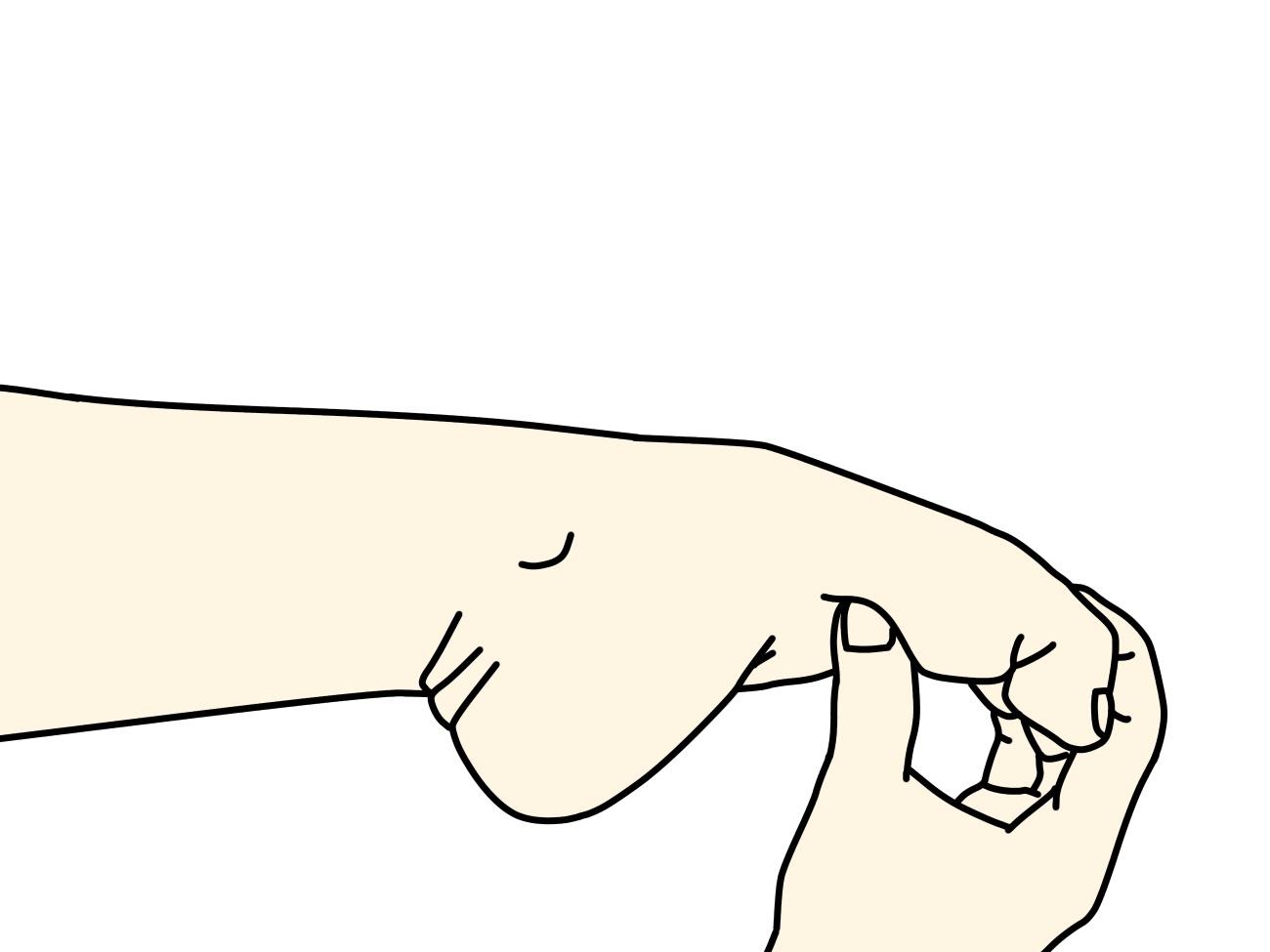 足の指の関節を曲げながら足の甲を伸ばすストレッチ