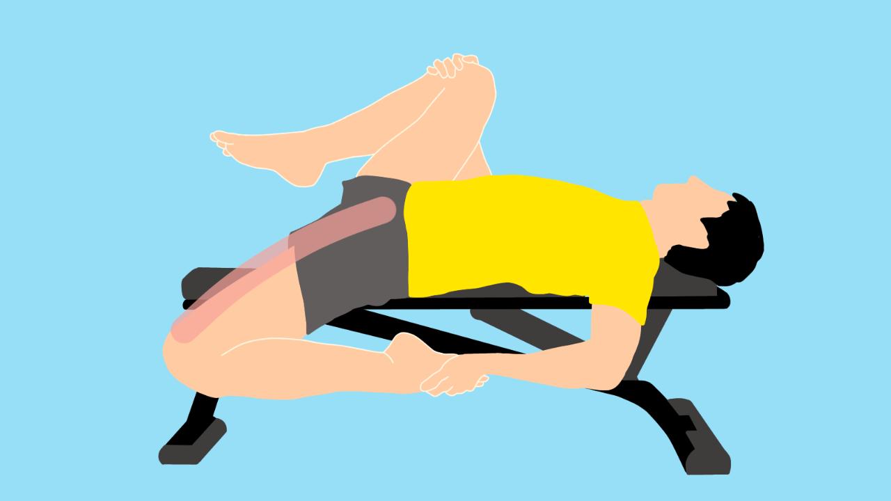 前後開脚(スピリッツ)の動作を柔らかくしたい人にオススメの腸腰筋と大腿直筋のストレッチ