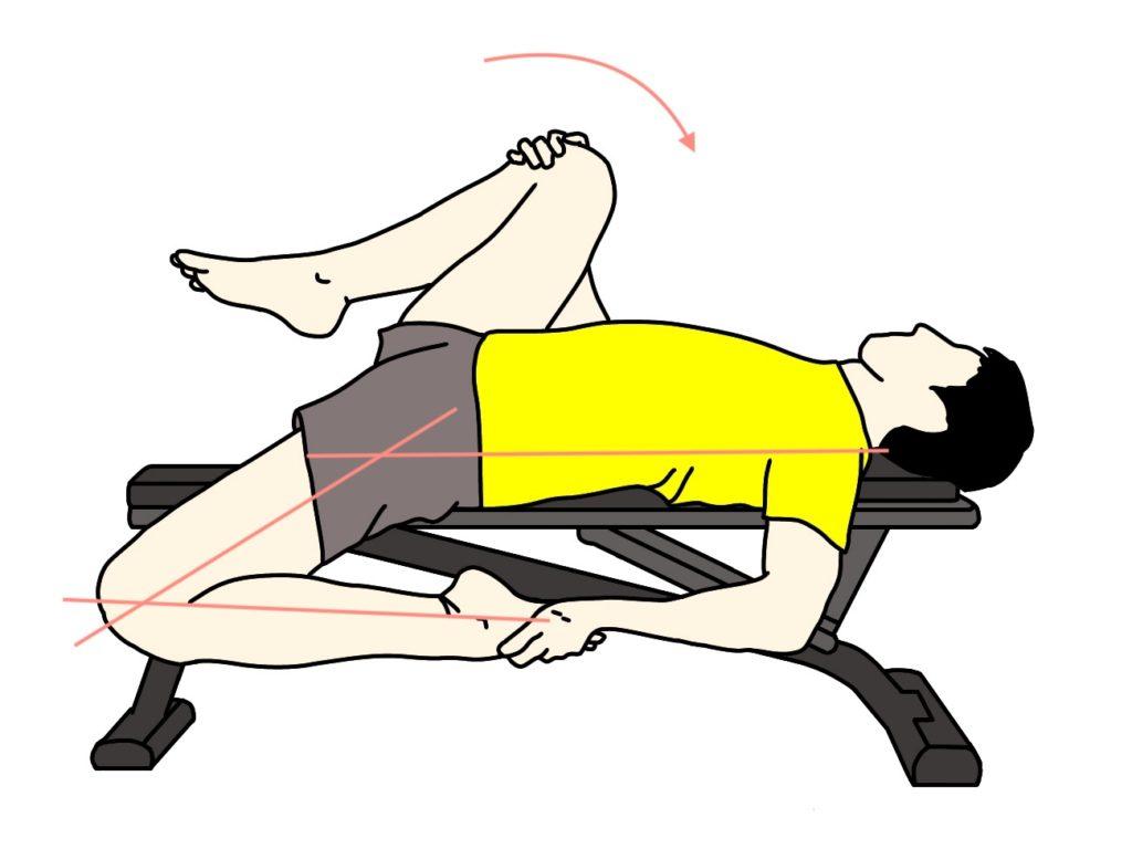 腸腰筋と大腿直筋のストレッチ