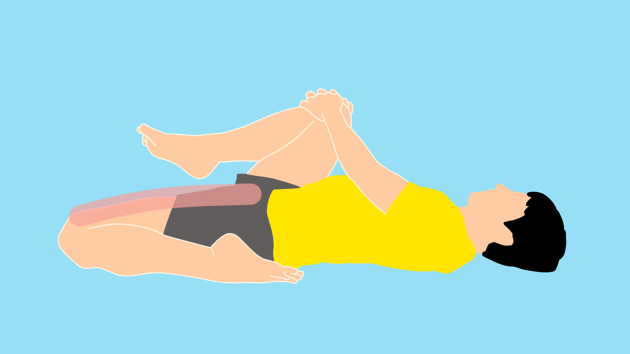 前後開脚(スピリッツ)のを柔らかくしたい人にオススメのもも前(大腿四頭筋)のストレッチ