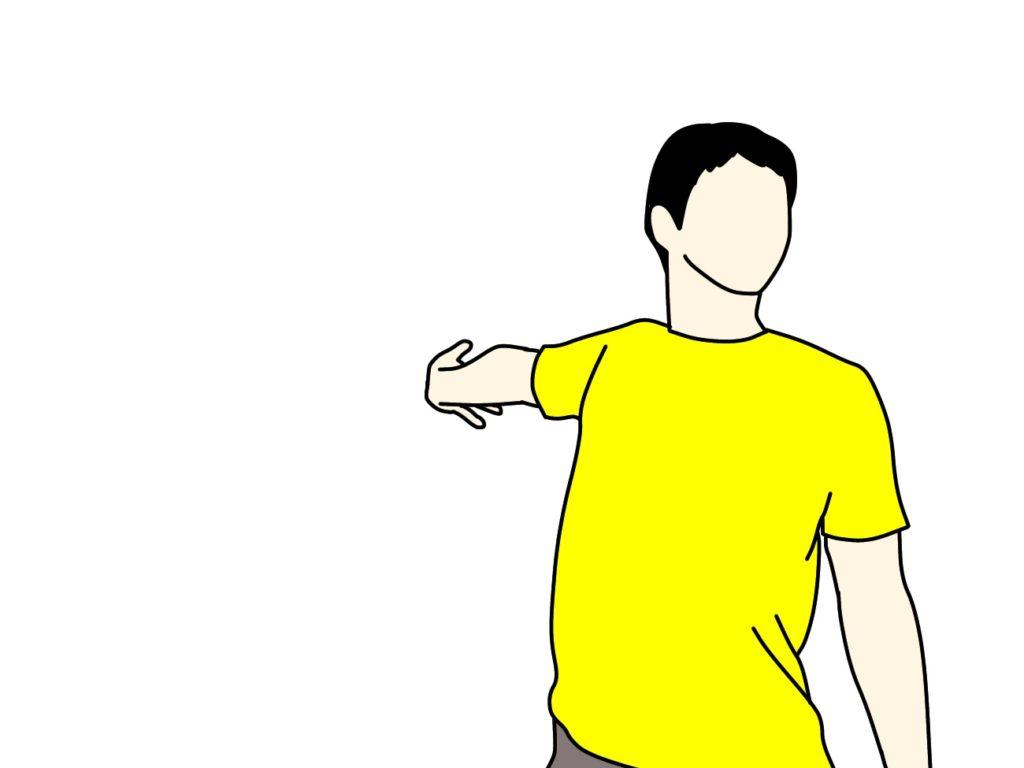 【ストレッチの方法】大胸筋の伸ばし方