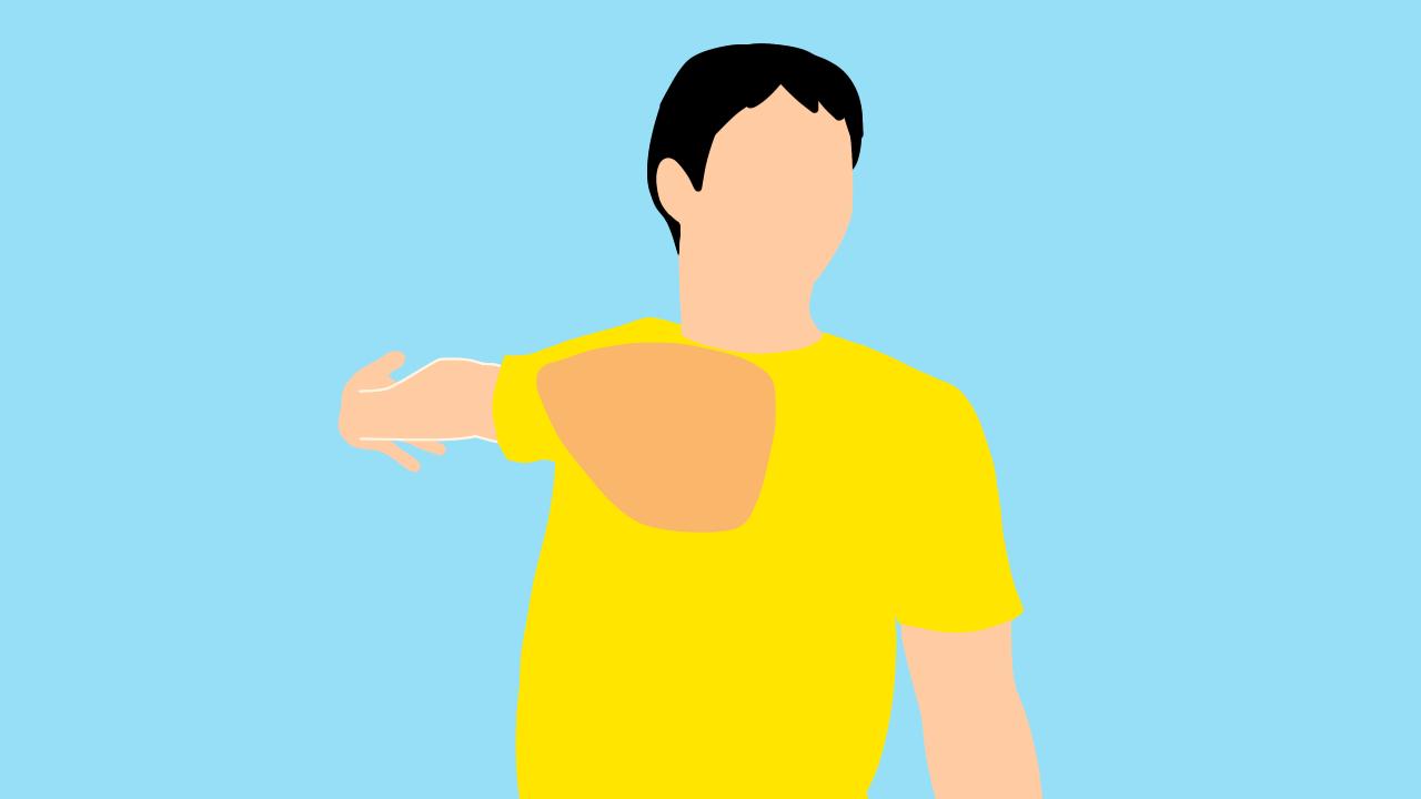 大胸筋のストレッチ