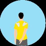 肩甲骨の下方回旋