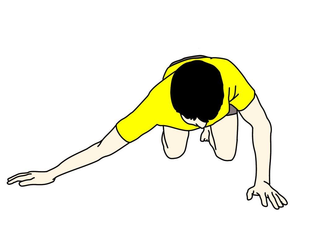胸の筋肉(大胸筋)のストレッチ