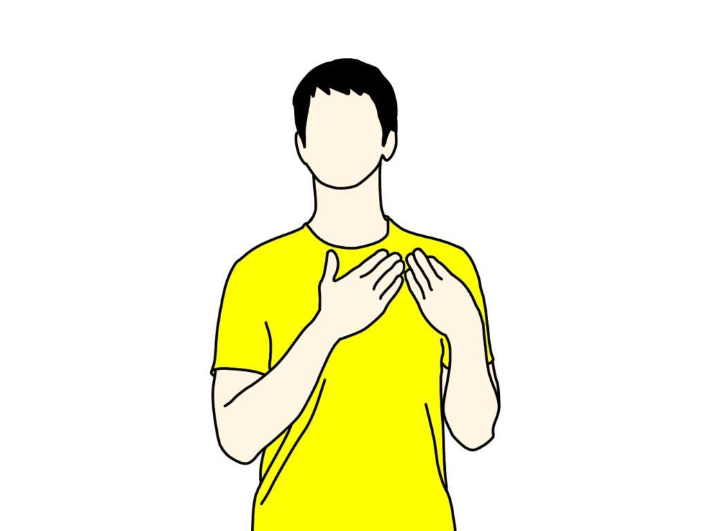 顎〜喉の(胸鎖乳突筋・斜角筋)のストレッチ