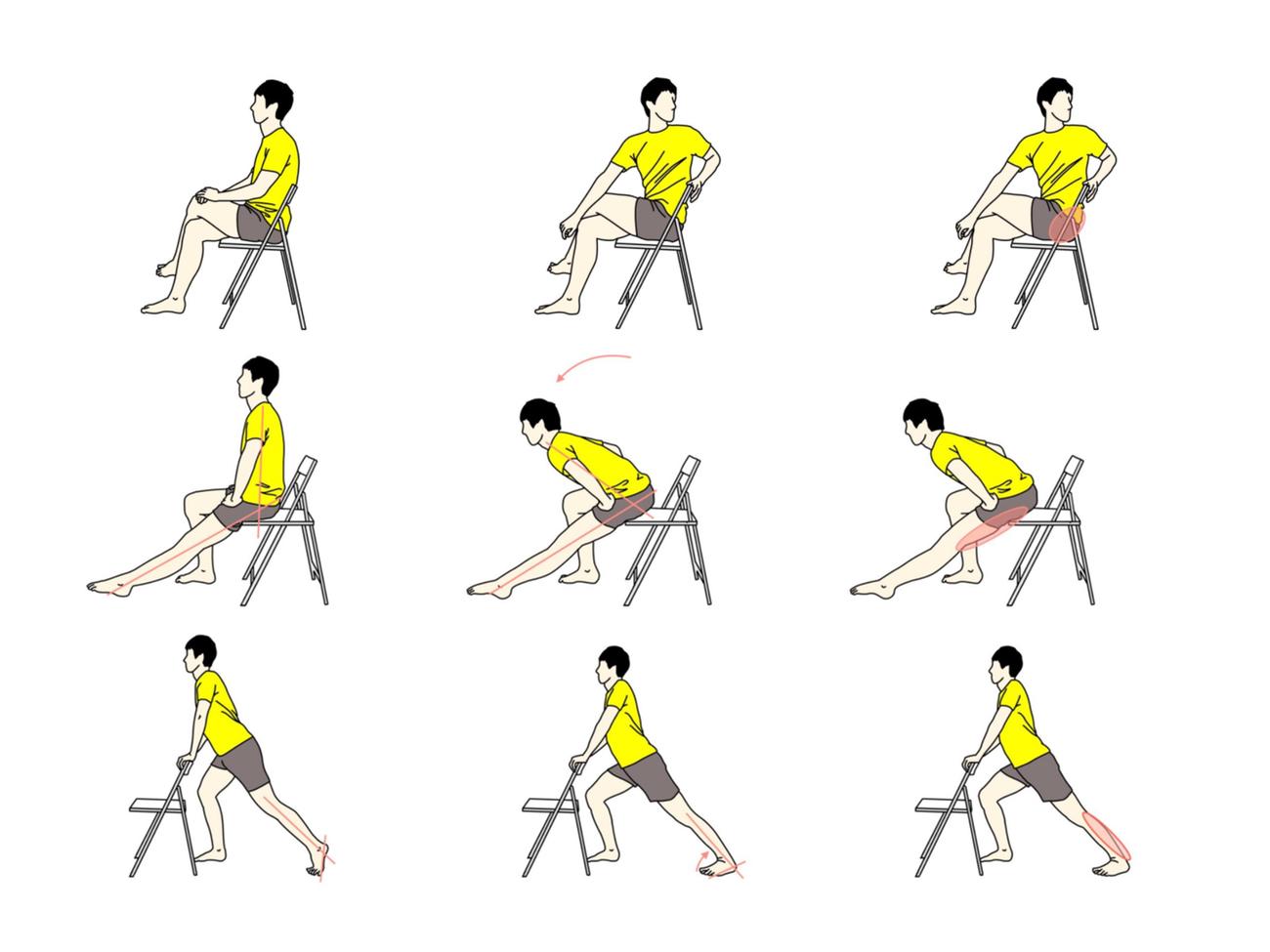 腰が固まるのを防ぎましょう。リモートワークの腰痛を解消するストレッチ