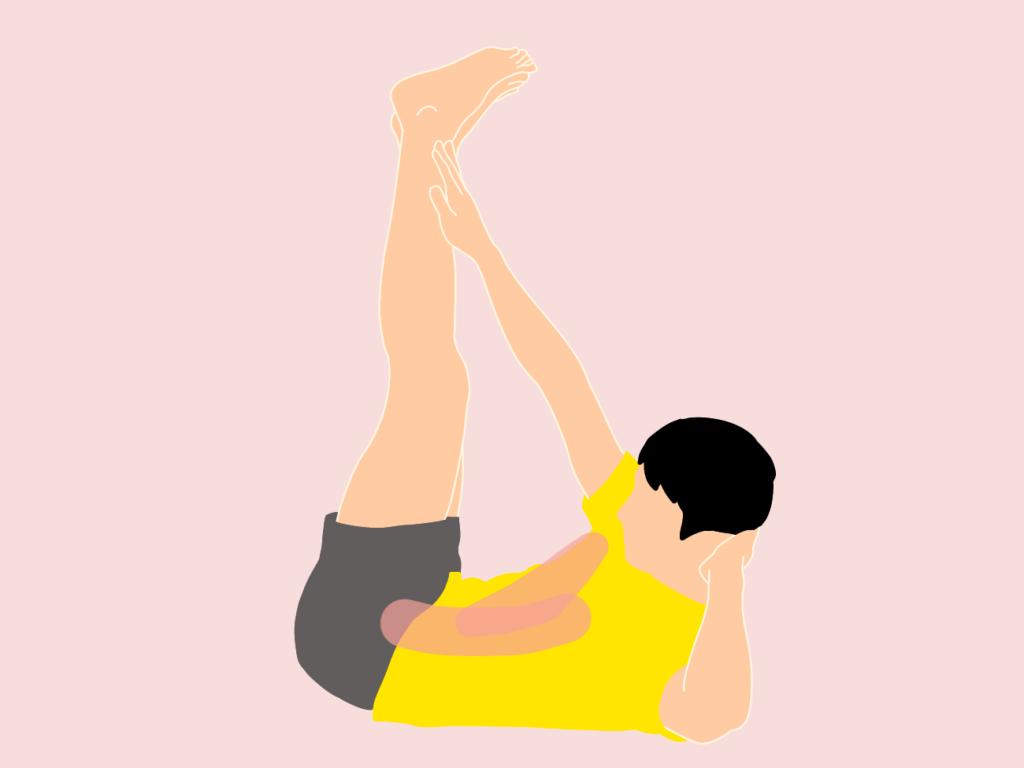 腹筋のトレーニング(外腹斜筋・内腹斜筋・腹直筋上部〜下部)