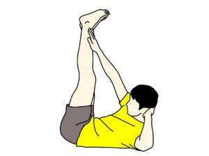 腹筋のトレーニング(外腹斜筋・内腹斜筋腹直筋上部〜下部)【体幹トレーニング】