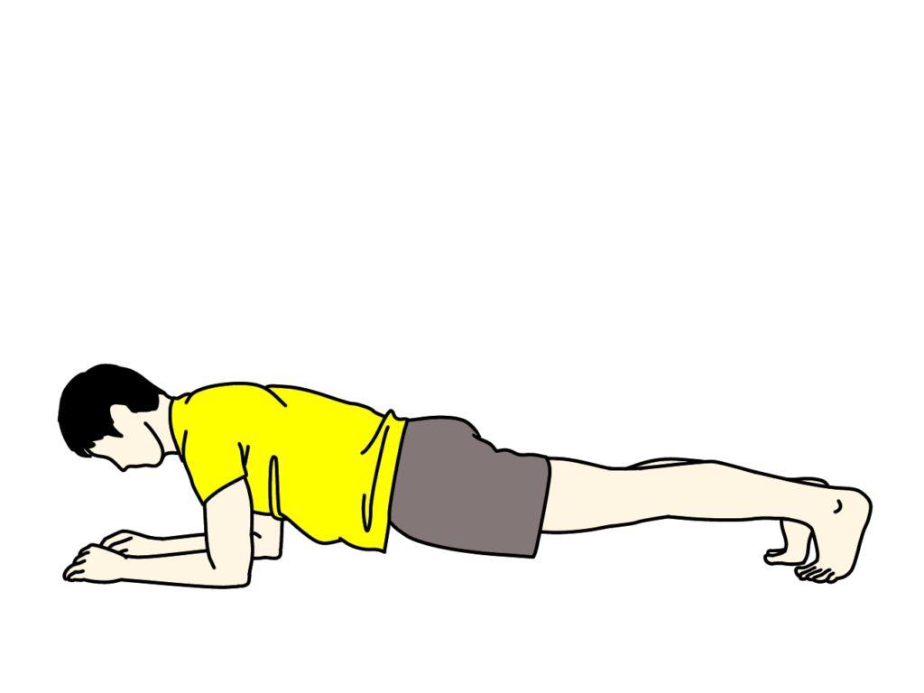 腹筋のトレーニング(腹筋群)【体幹トレーニング】