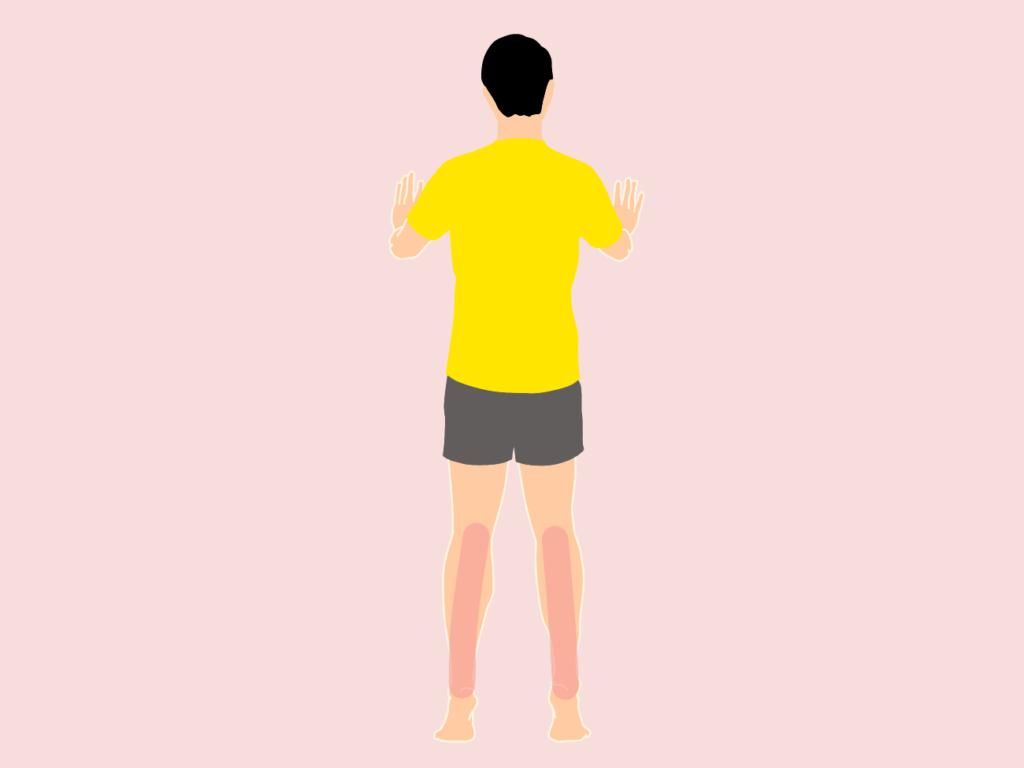 ふくらはぎ(下腿三頭筋)のトレーニング