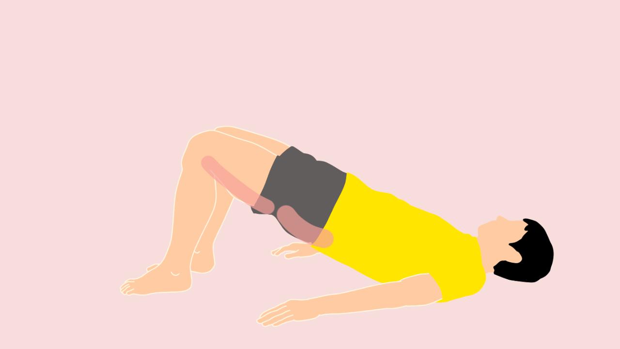 お尻の筋肉(大殿筋)ともも裏(ハムストリングス)のトレーニング
