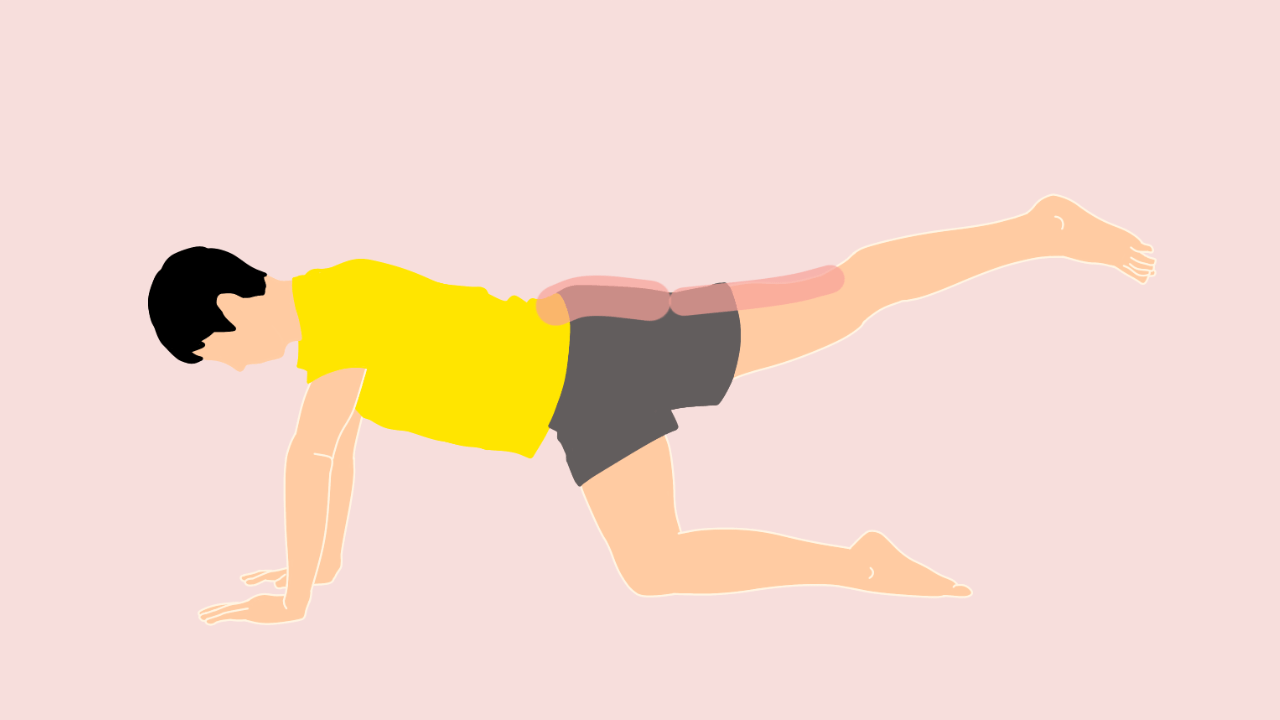 お尻の筋肉(大殿筋)のトレーニング