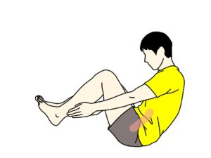 下腹部(腹直筋下部)のトレーニング