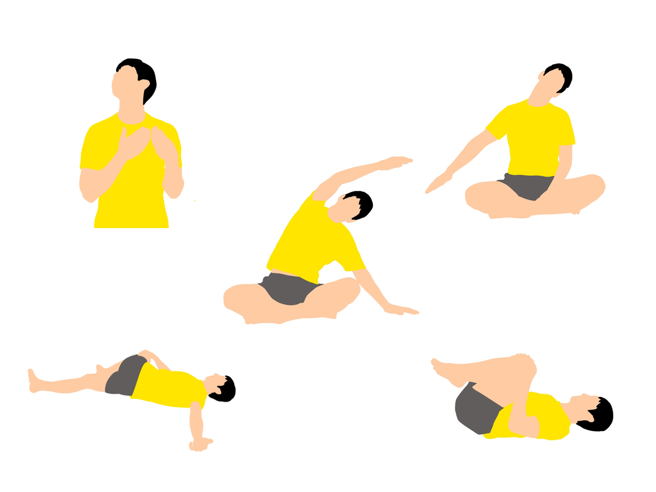 ぐっすり眠ろう。寝る前に行う首肩こりがスッキリするストレッチプログラム(5種目)