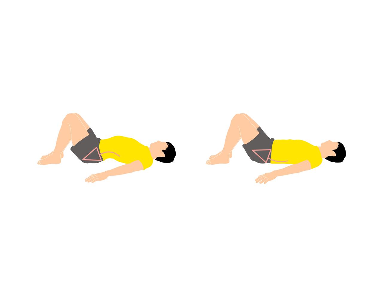 骨盤の前傾と後傾トレーニング