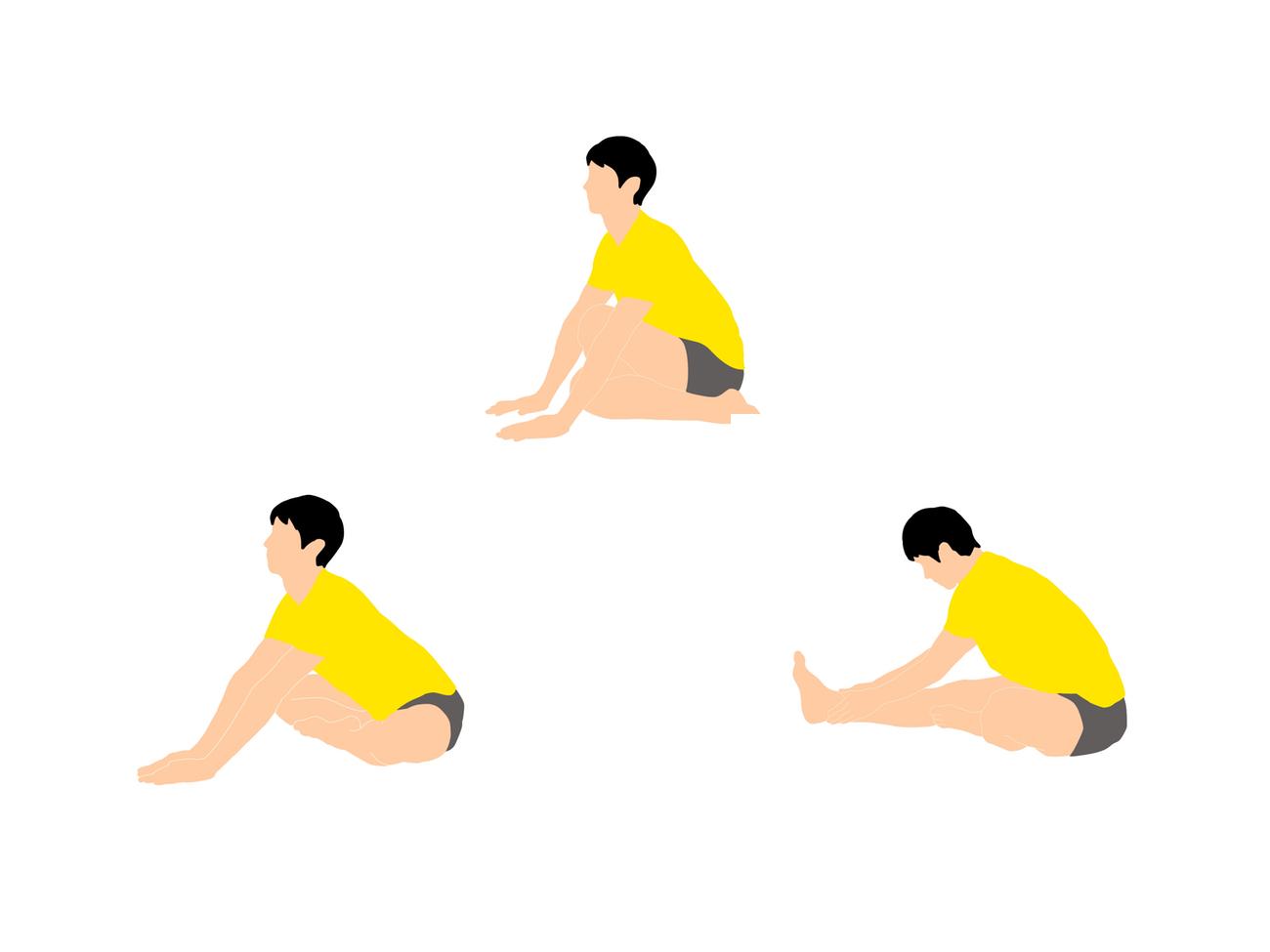 前屈を柔らかくするためのストレッチプログラム