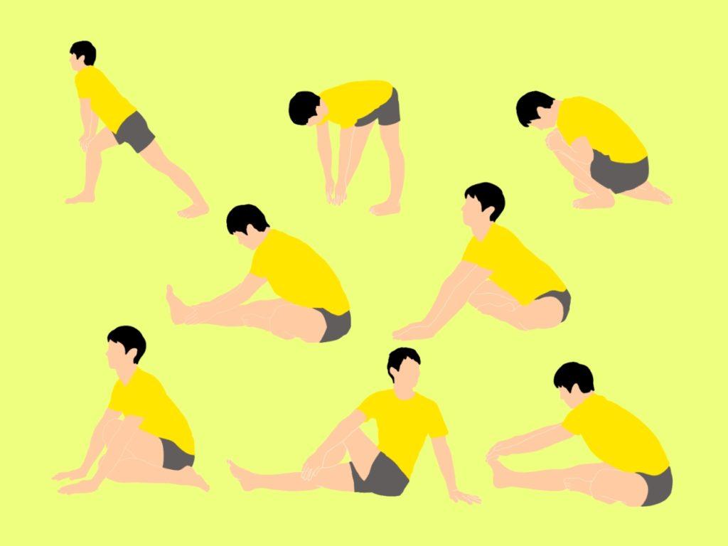 中級者向けの前屈の柔軟性向上ストレッチプログラム