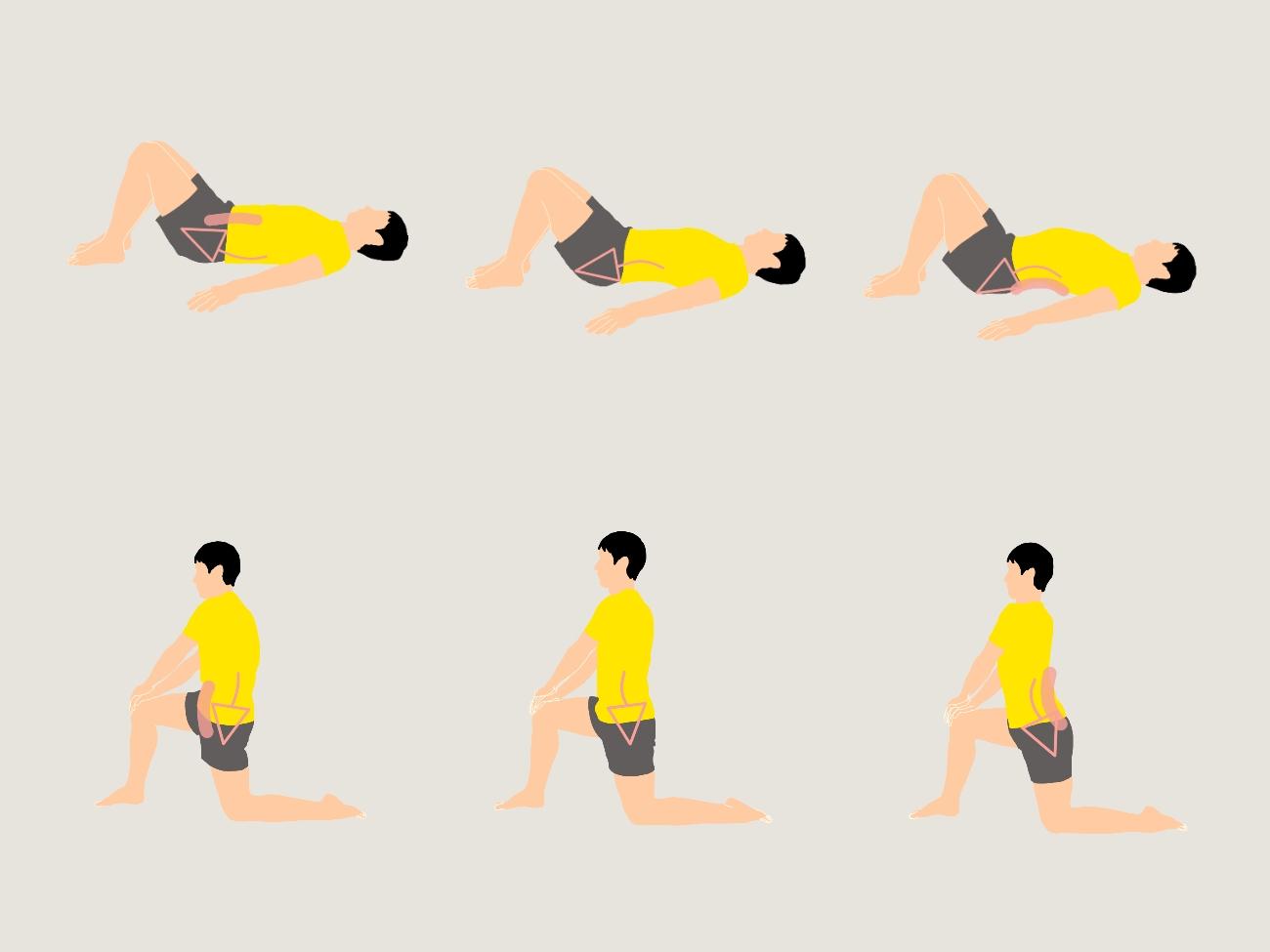 骨盤を動かすストレッチプログラム