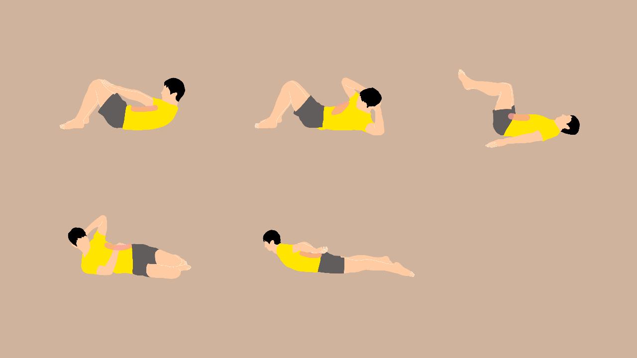 寝ながらできる体幹トレーニング