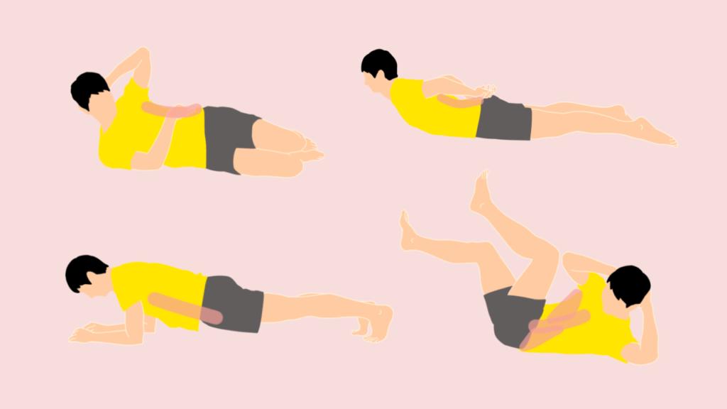 体幹トレーニングの方法一覧
